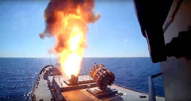[VIDEO] Nga giáng đòn tấn công tên lửa Kalibr vào cơ sở IS ở Syria