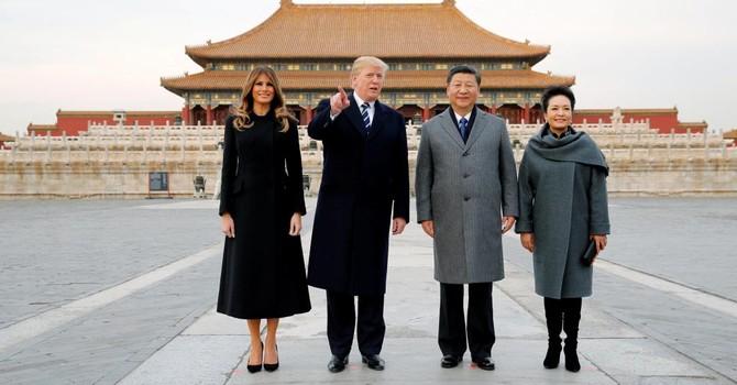 9 tỷ USD hợp đồng được ký kết trong ngày đầu ông Donald Trump thăm Trung Quốc