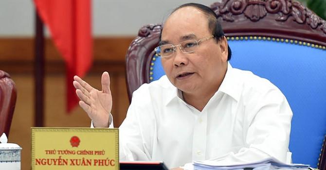 Thủ tướng: Ngân hàng Nhà nước cần sớm trình phương án xử lý nợ xấu dứt điểm