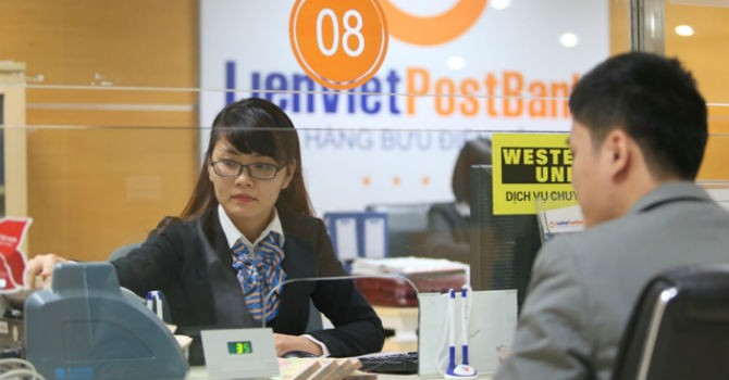 LienVietPostBank: Quý III lợi nhuận tăng 2,7 lần