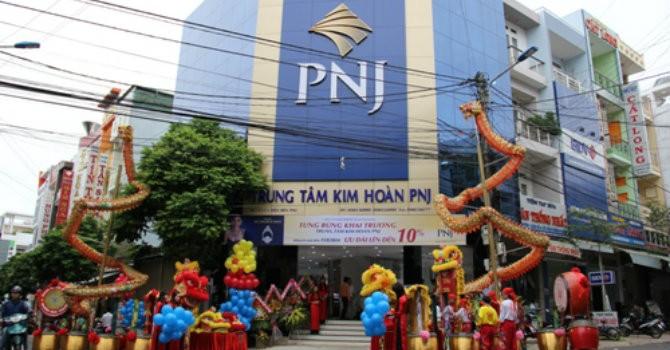 PNJ trả cổ tức 10%, phát hành cổ phiếu tăng vốn