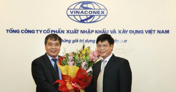 Phó tổng giám đốc SCIC giữ chức Chủ tịch Vinaconex