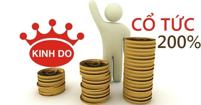KDC: Thấy gì từ quyết định chia cổ tức 200%?