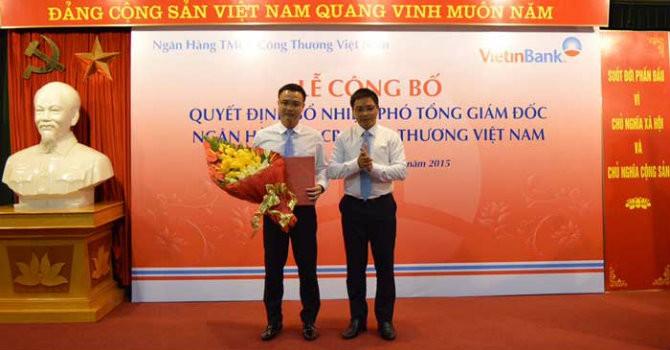 VietinBank bổ nhiệm Phó tổng giám đốc mới