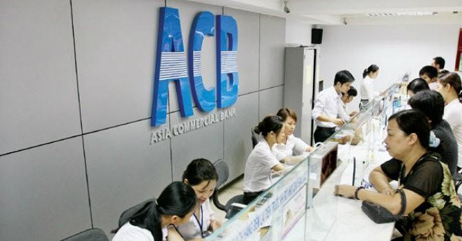 ACB báo lãi 290 tỷ đồng quý II, giảm 10% so với cùng kỳ