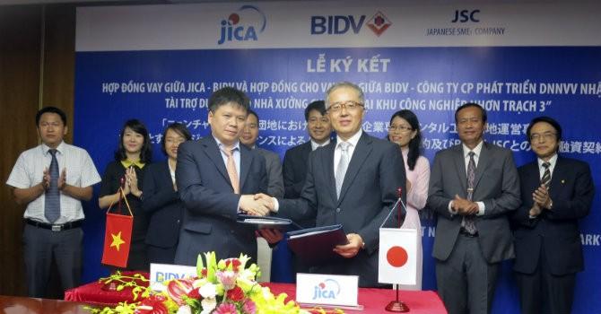 JICA cho BIDV vay 24 triệu USD