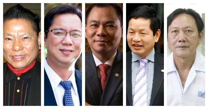 Điểm danh những doanh nhân Việt tuổi Thân thành đạt