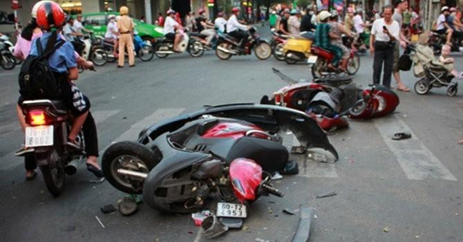 Số người tử vong vì tai nạn giao thông tăng vọt ngày Tết