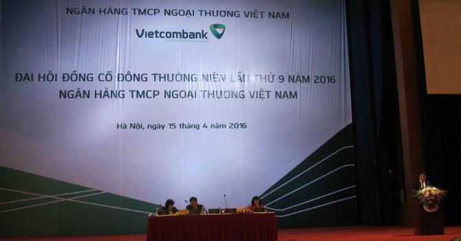 ĐHĐCĐ Vietcombank: Sẽ chỉ nắm vốn ở 2 tổ chức tín dụng