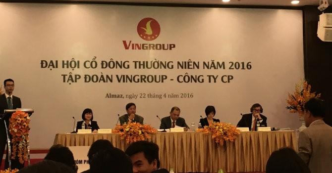 ĐHĐCĐ Vingroup: Ông Phạm Nhật Vượng tái đắc cử ghế Chủ tịch HĐQT