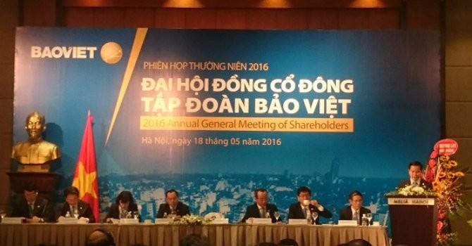 ĐHĐCĐ Bảo Việt: Đặt mục tiêu 85.000 tỷ đồng tổng tài sản hợp nhất vào năm 2020