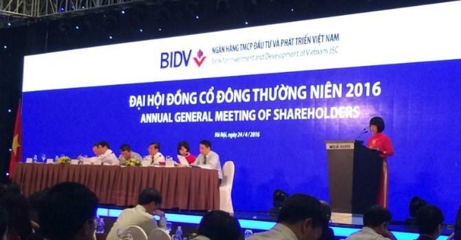 BIDV sẽ điều chỉnh kế hoạch trả cổ tức 2015?