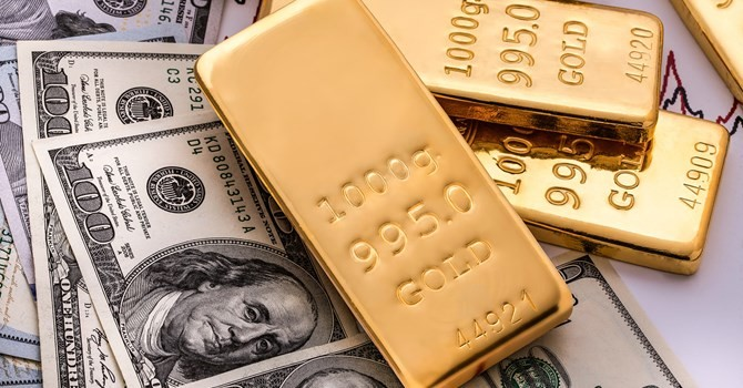 Giá vàng ngược dòng thành công khi đồng USD đi xuống