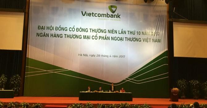ĐHĐCĐ Vietcombank: Đề xuất rút vốn khỏi Eximbank, ước lãi trên 700 tỷ