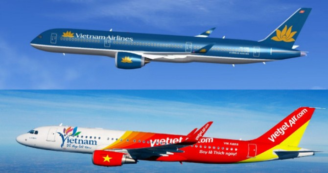 Doanh nghiệp 24h: Vì sao giá cổ phiếu của Vietnam Airlines thấp hơn của Vietjet Air?