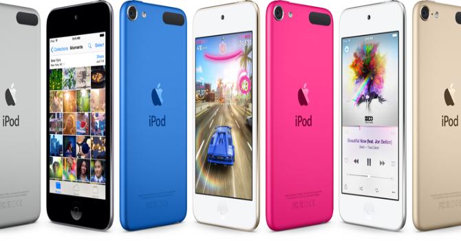 Sau 3 năm bỏ mặc, Apple bất ngờ ra mắt iPod touch thế hệ mới
