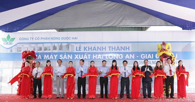 Nông Dược HAI khánh thành nhà máy 150 tỷ tại Long An