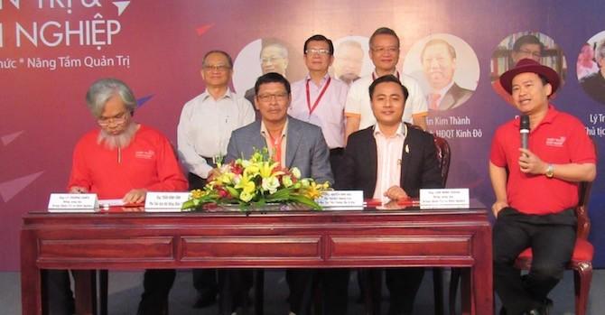 BizLIVE ký thoả thuận hợp tác truyền thông với Nhóm Quản trị & Khởi nghiệp