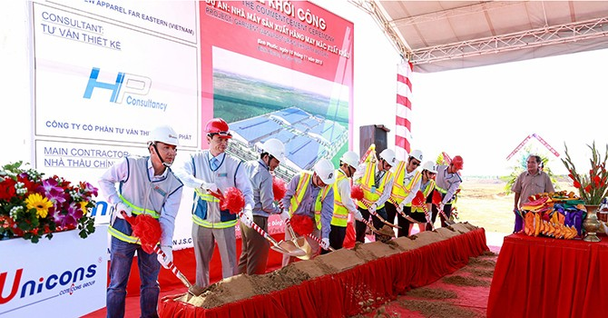 Taiwan's Far Eastern Apparel Builds 2nd Factory in Vietnam