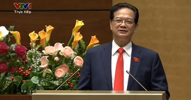 Vietnam Gov't Strives to Achieve 6.5% GDP Growth in 2015, States PM Dung