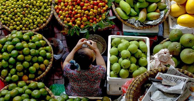 Water Price Drives Hanoi Inflation in November