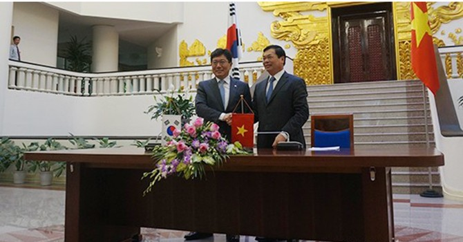 South Korea Parliament Ratifies FTA with Vietnam