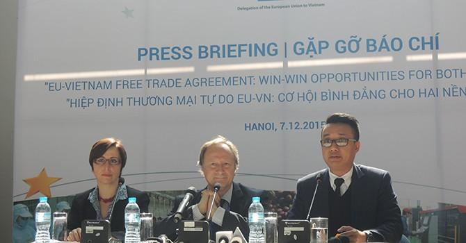 """""""Chúng tôi kỳ vọng sẽ có làn sóng đầu tư từ EU vào Việt Nam"""""""