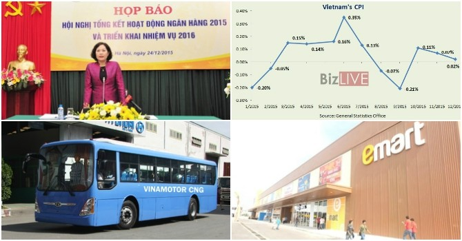 [Round-up] Vietnamese Inflation at Decade-Low, E-mart Enters Vietnam