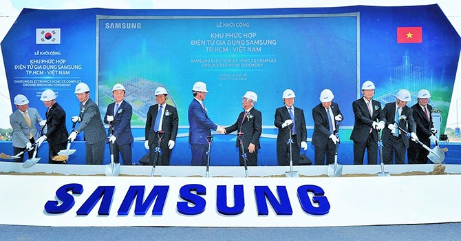 Samsung Adds $600 Million to CE Complex Project in HCM City