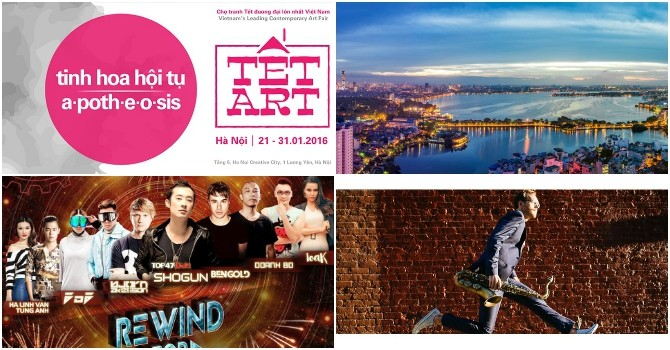 Concerts to Warm up Hanoi This Weekend