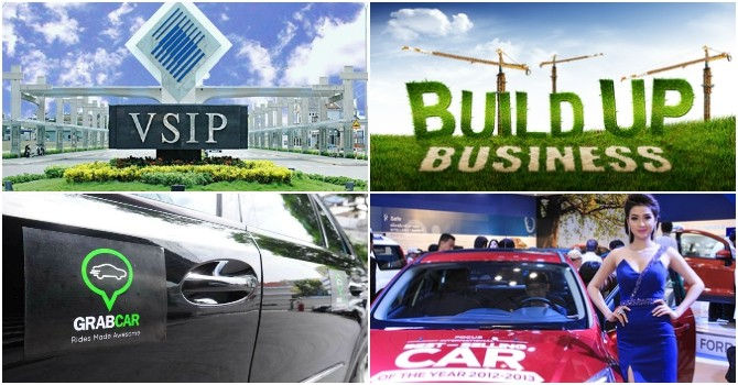 [Round-up] GrabCar Gets Green Light in Vietnam, Binh Duong to Build More IPs