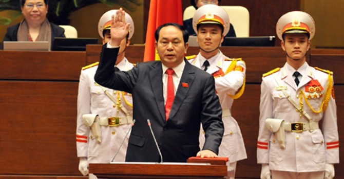 Vietnam Police Chief Elected as State President