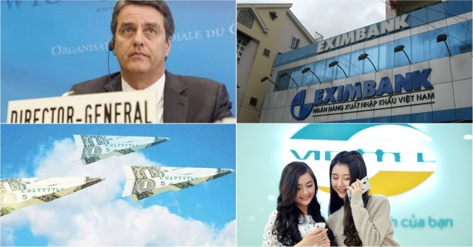 [Round-up] WTO Chief to Visit Vietnam, Viettel to Pour $1.5 Billion into Myanmar