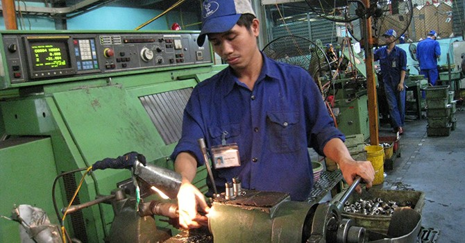 Vietnam PMI Hits Nine-Month High in April