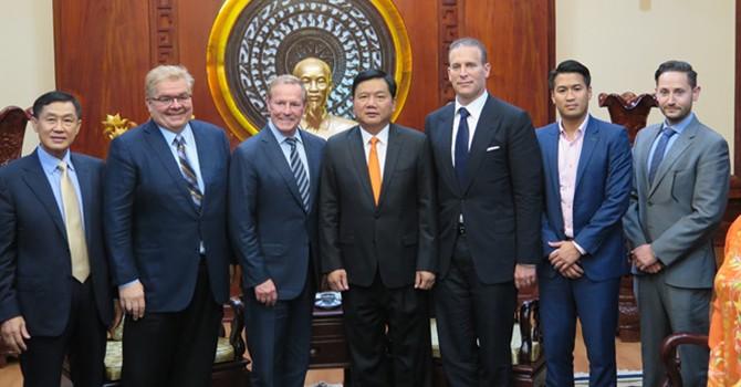 U.S. Giants Eye Mega Investment in HCM City