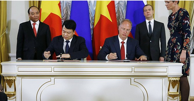 Russia, Vietnam Form $500 Million Fund to Promote Trade, Investment