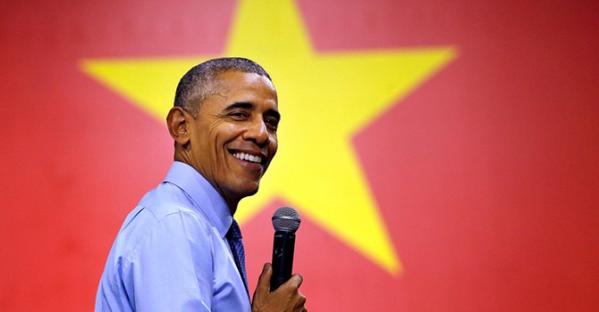 [Ảnh] Tổng thống Obama trong chuyến công du châu Á