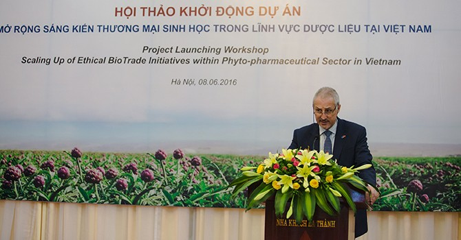EU Launches EUR2-Million Fund to Aid Vietnam's Phytopharmaceutical Sector