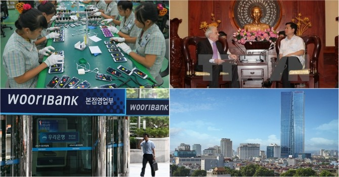 [Round-up] More Vietnamese Firms Join Samsung's Supply Chain, HCMC Acts to Curb FDI Fall