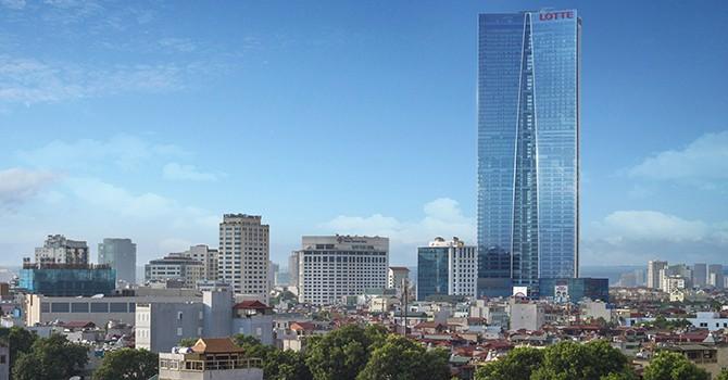 Landmark Building in Hanoi Allegedly Involved in Lotte's Slush Fund