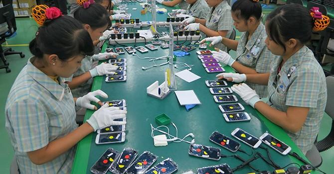 Samsung Suppliers in Vietnam Surge to 190