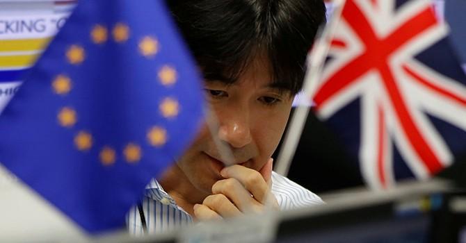 """Chứng khoán châu Á """"rực lửa"""" sau khi người Anh chọn rời EU"""