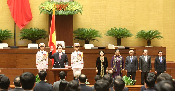 [Round-up] Parliament Re-elects Tran Dai Quang as President, $3 Billion Int'l Bond Sales Plan Delayed