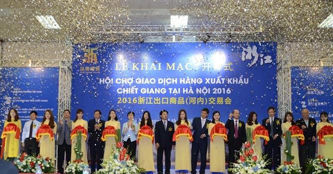 Doanh nghiệp Chiết Giang tiếp thị hàng ở Hà Nội: Người Việt có mặn mà?