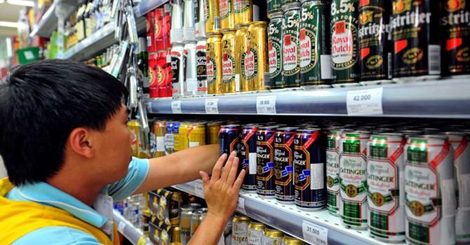 """Bia vẫn là """"ngôi sao sáng"""" trong bức tranh ngành hàng tiêu dùng nhanh"""