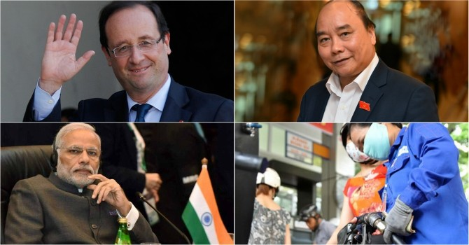 [Round-up] Vietnam PM to Visit China, France President Touches down in Vietnam