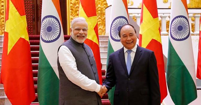 Vietnam, India Upgrade Ties to Comprehensive Strategic Partnership