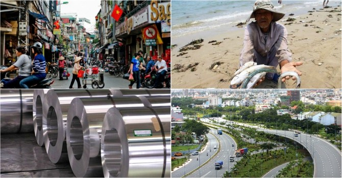 [Round-up] Vietnam Steel Makers Face U.S. Anti-dumping Lawsuit, 2016 GDP Target Lowered
