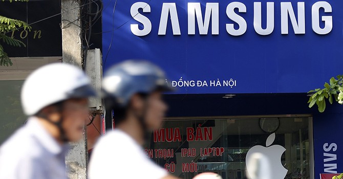 Samsung Makes up 22.7% of Vietnam's Export Turnover