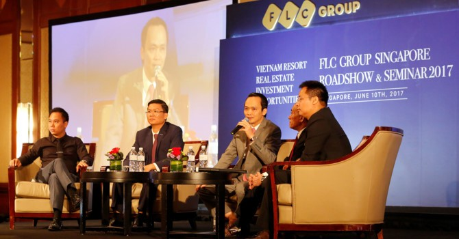 FLC Group Seeks Investors in Singapore Roadshow